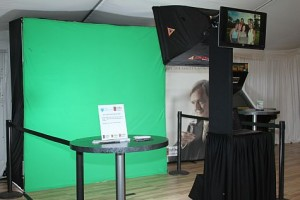 Green Screen Event Photography Setup